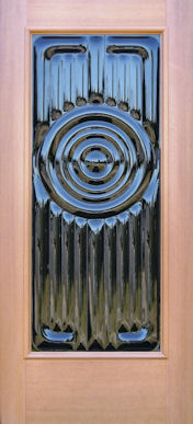 Contemporary Glass Entry Door