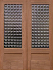 Cobbles 8 ft Double Door Entry