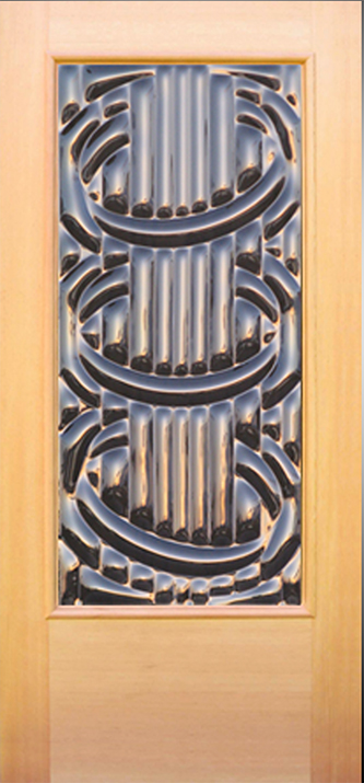 Sculptural Glass Doors Contemporary Glass Entry Doors